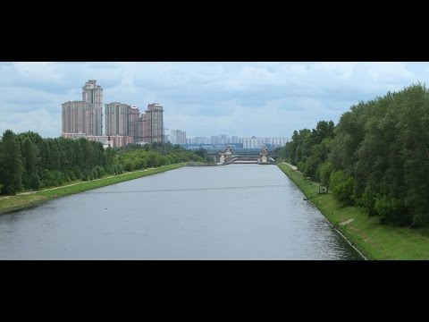 Gateway 7 of the Moscow Canal. (Шлюз № 7 канала имени Москвы.)