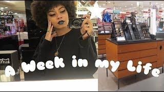 A WEEK IN MY LIFE AS A MAC MAKEUP ARTIST...before I quit