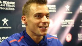 Sam Mikulak - Interview - 2016 U.S. Olympic Team Trials