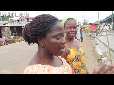 Newly Constructed Du Port Road Market, Paynesville Liberia