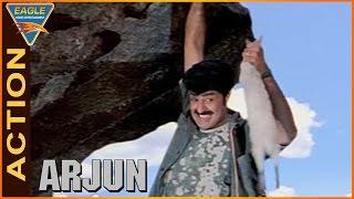 Arjun Movie || Balakrishna Entrance Action Scene || Balakrishna,Laya || Eagle Hindi Movies