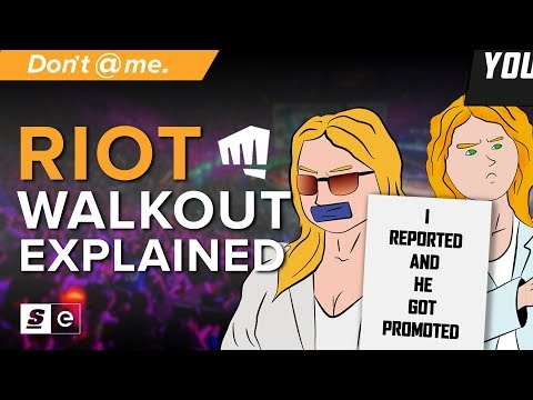 Shocking and Offensive Behaviour: The Riot Games Walkout Explained