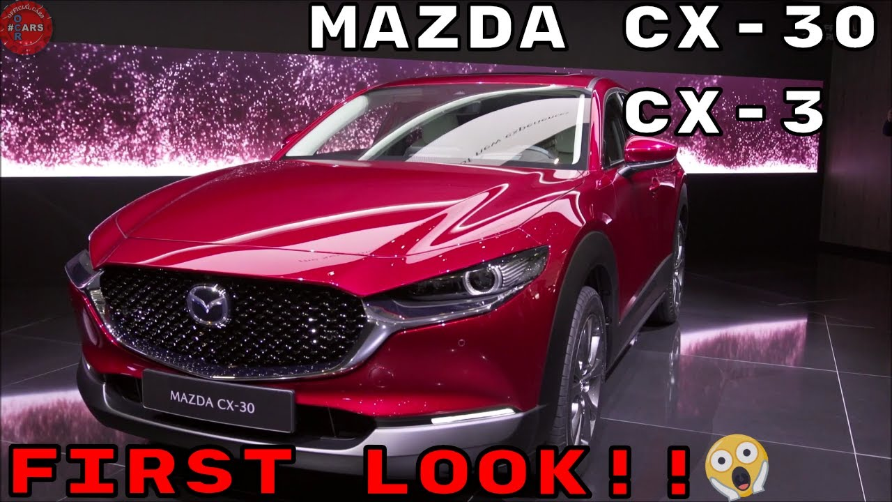 2020 Mazda Cx30 Cx3 First Look Interior Exterior Design