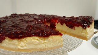 Cheese Cake com Geléia de Frutas Vermelhas