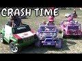 Kids Power Wheels Demolition Derby At Donnybrook Ontario Fair 2017 Part 4