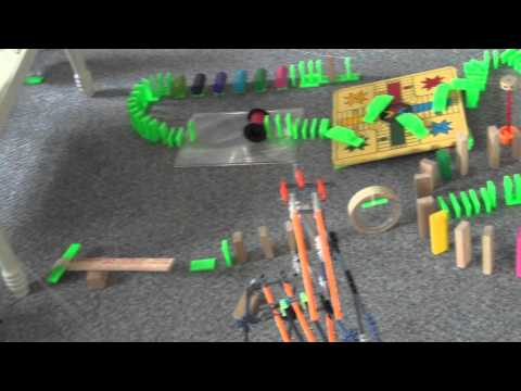 Extras: Rube Goldberg - How to Throw Out an Old Tennis Ball (The Cool Way)