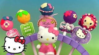 Play Doh Hello Kitty Pâte à modeler Sucettes Hello Kitty Lollipop Maker Lolly Pops ハローキティ