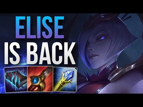 PATCH 8.11 MADE ELISE GOOD AGAIN - INSANE DAMAGE! | CHALLENGER ELISE JUNGLE GAMEPLAY | Patch 8.11 S8