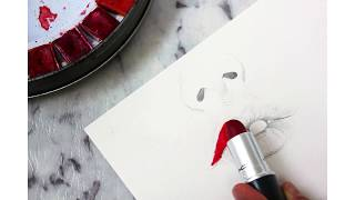 Giving a Whole New Meaning to Painting your Lips.