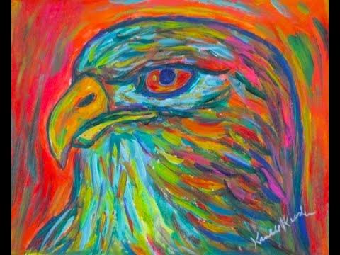 hawk-abstract-painting-demo-by-award-winning-artist-kendall-f.-kessler
