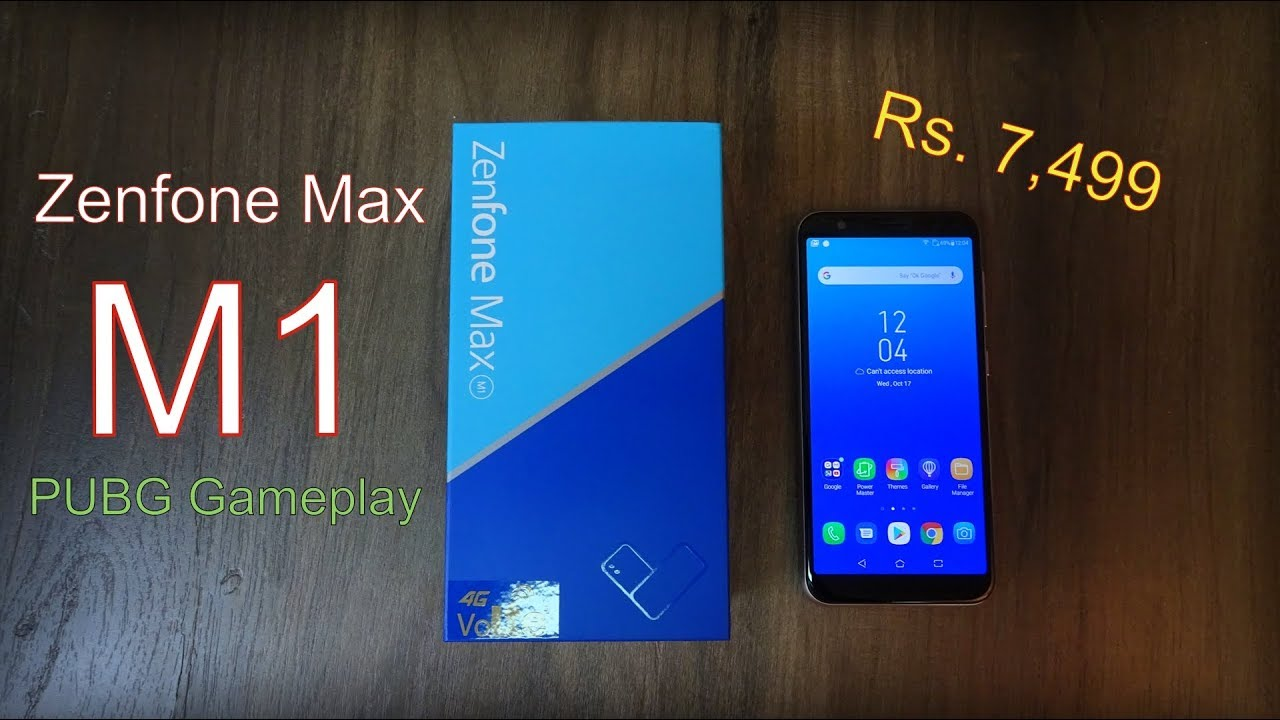 Asus Zenfone MAX M1 review - Pubg game test, camera samples, battery performance Rs. 7499