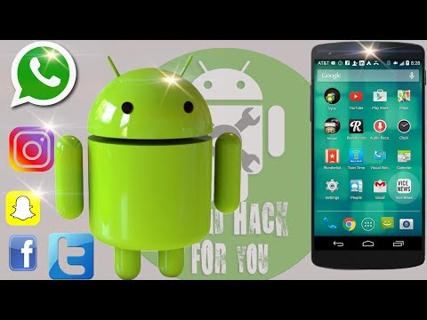 how to hack an android phone to see all information remotely (whatsapp, facebook, sms, calls)