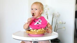 Aria Eats Bananas and Figs