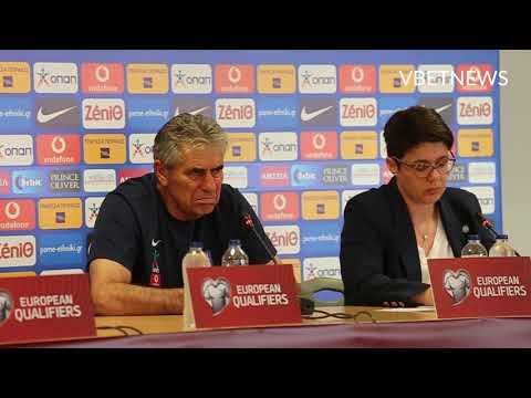 EURO 2020. Greece coach's press-conference ahead of the match against Armenia