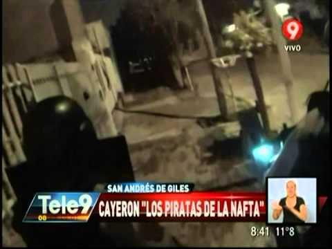 """San Andrés de Giles: Cayeron """"Los piratas de la nafta"""""""