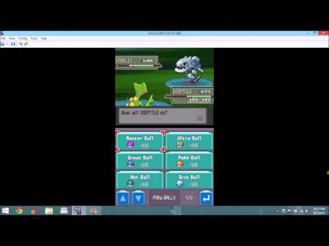 PokeMon Platinum Get Any Pokemon Cheat