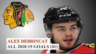 Alex DeBrincat (#12) All 41 Goals of the 2018-19 NHL Season