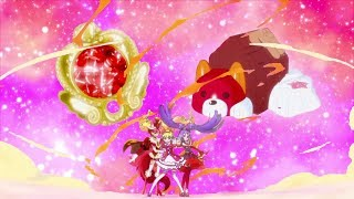 Cure Chocolat ☆ Cure Miracle & Cure Magical ☆ Group Transformation (Ruby)