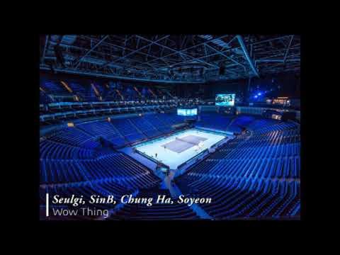 SEULGI, SinB, Chung Ha, Soyeon - Wow Thing [Empty Arena]