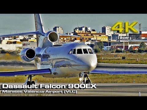 Dassault Falcon 900EX (Private Jet) [4K]