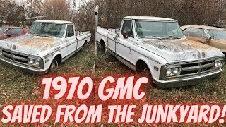 Abandoned 1970 GMC Saved from the Junkyard! First Drive in 20 Years!