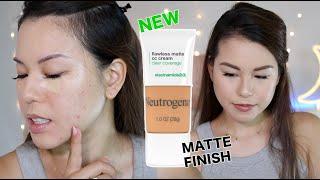 Neutrogena Flawless Matte ĊC Cream Review |AlisonHa