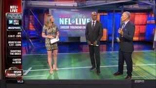Wendi Nix, Linda Cohn, Cari Champion (ESPN)