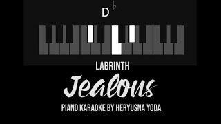 [Karaoke Piano] Jealous - Labrinth (with Lyrics)
