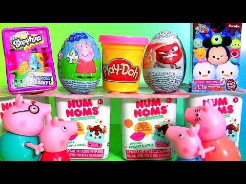 SURPRISE Collection Num Noms Play Doh Peppa Pig Disney Tsum Tsum Shopkins Inside Out