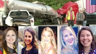 Crazy accidents: Five Georgia nursing school students die in seven vehicles crash