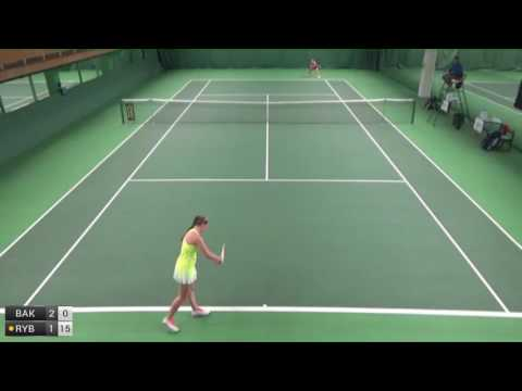 Bakhmutkina Polina v Rybakina Elena - 2016 ITF Helsinki