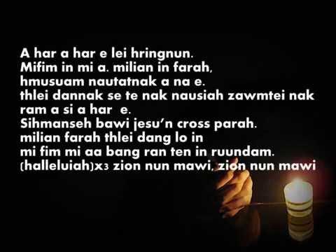 Falam Pathian hla mawi lyrics