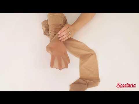 Prezentare ciorapi cu talie joasa Marilyn Vita Bassa 20 den