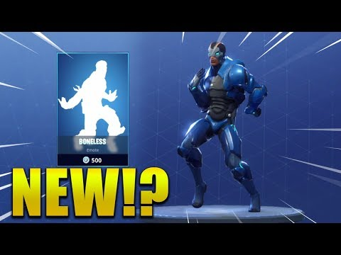 *NEW* BONELESS EMOTE/DANCE !? Fortnite Battle Royale