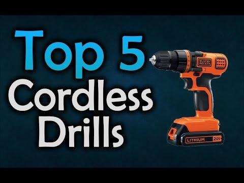 Best Cordless Drills - Top 5 Drills in 2017
