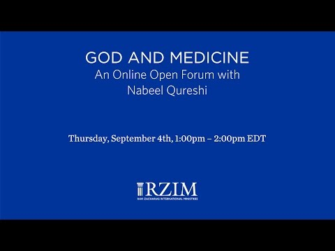 God and Medicine with Nabeel Qureshi