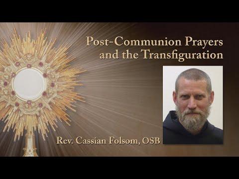 Post-Communion Prayers and the Transfiguration