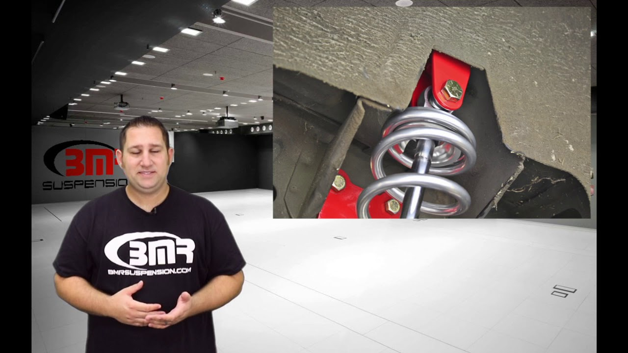 BMR Suspension - Fox Body, SN95, and New Edge Mustang Rear Coilover  Conversion Kit - CCK009