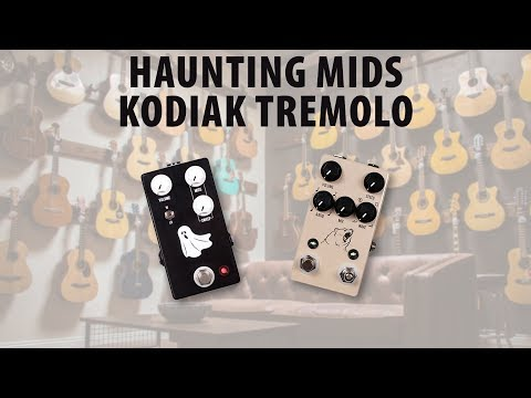 JHS Pedals Haunting Mids and Kodiak Tremolo