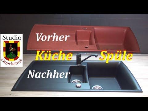 Küche Spüle streichen Tipps Ratschläge Paint kitchen sink, haben nichts bei Youtube darüber gefunden