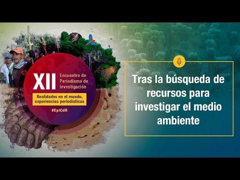 XIIEncuentro2019 - Tras la búsqueda de recursos para investigar el medio ambiente
