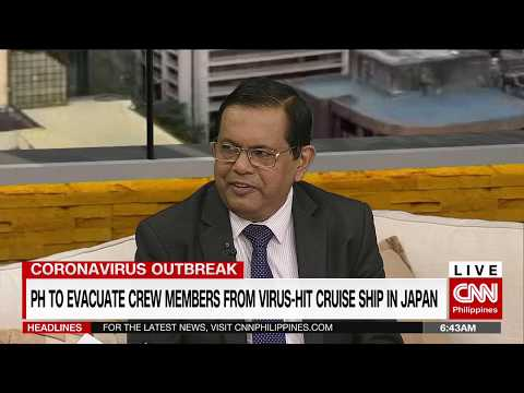 PH To Evacuate Crew Members From Virus-hit Cruise Ship In Japan