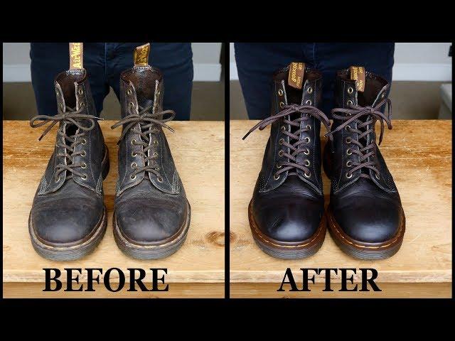 Clean & Restore: Vintage Dr. Martens