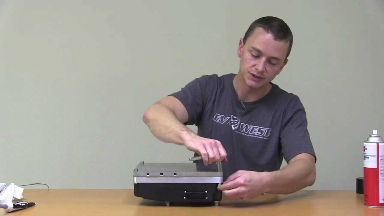 EV West - Curtis Controller Chill Plate Installation Guide