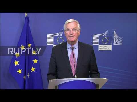 Belgium: Chief EU and UK negotiators announce start of Brexit negotiations
