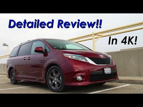 2015 Toyota Sienna Minivan DETAILED Review and Road Test - In 4K