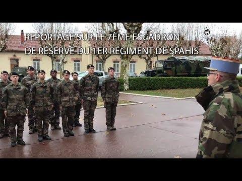 2017 29 11 Reportage sur le 7ème escadron de réserve du 1er régiment de Spahis
