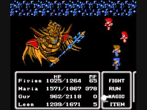 Image result for final fantasy ii famicom
