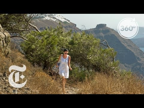 Hike to Find the Magic of Santorini in 360