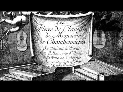 Chambonnières: Suite in A minor